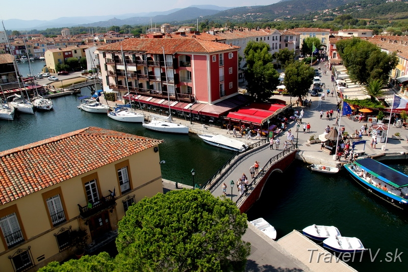 Homepage cestovanie france port grimaud 031 place du marche port grimaud - Marche nocturne port grimaud ...